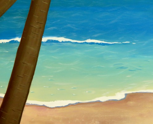 Turquoise Waters Mural