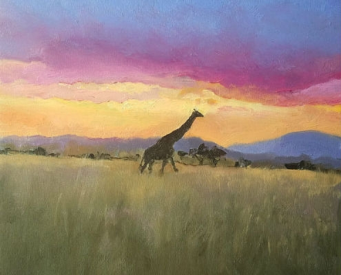 Sunset on the Savannah